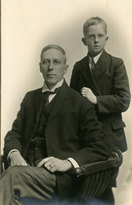 Dr. George Wesley Hall and Son