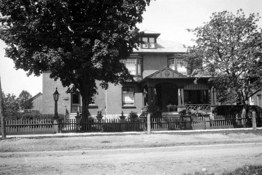 Dr. Hall's Residence 1911