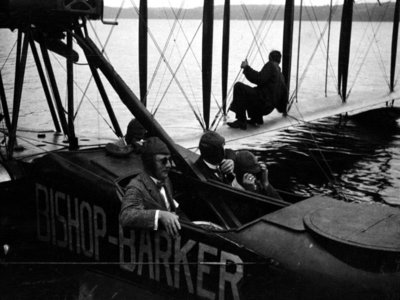 Ride in Float Plane 1920s