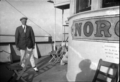Dr. George Wesley Hall on SS Noronic