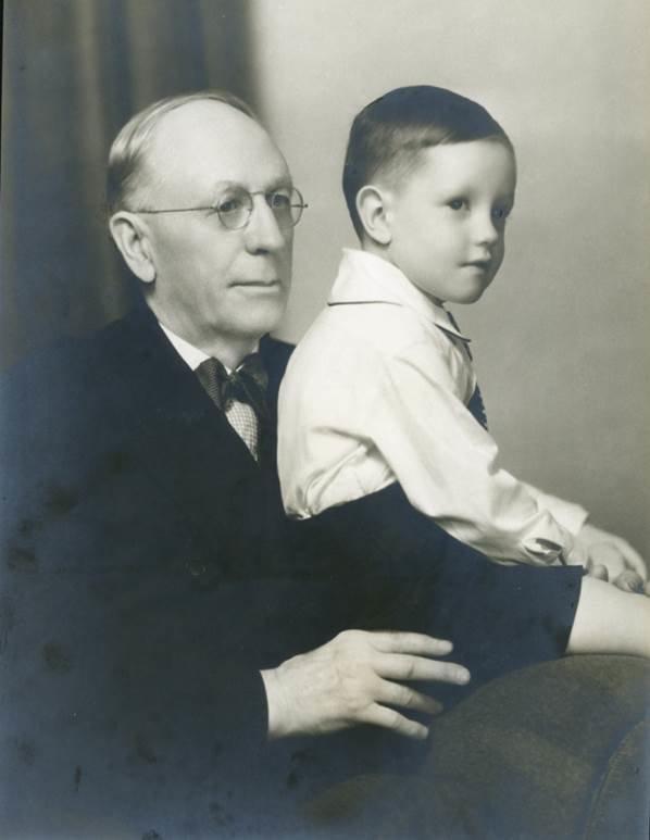 Dr. George Wesley Hall and Grandson