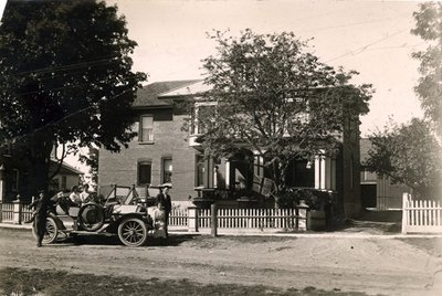 Dr. Hall's Residence 1910