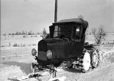 Dr. George C.R. Hall's 1925 Snow Car