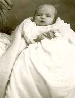 George C.R. Hall Baby Photo