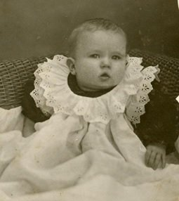 Dr. George C.R. Hall Baby Photo