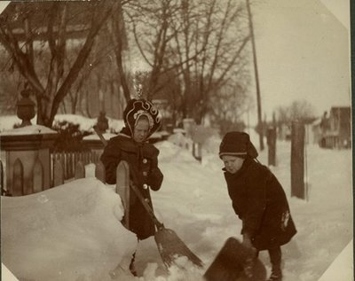 George C.R. Hall and Edith Shovelling