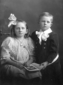 Dr. George C.R. Hall and Sister Edith 1907