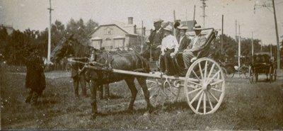 Horse Drawn Coach 1908