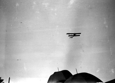 Airshow at Canadian National Exhibition 1920s