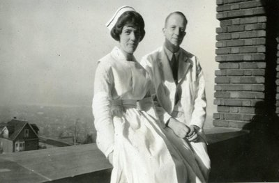 Dr. George C.R. Hall Interning in Hamilton