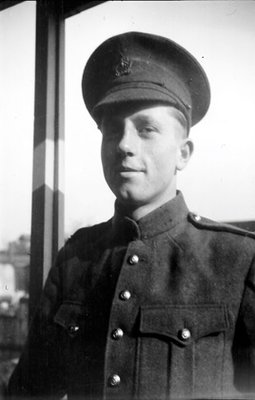 Dr. George C.R. Hall in Uniform