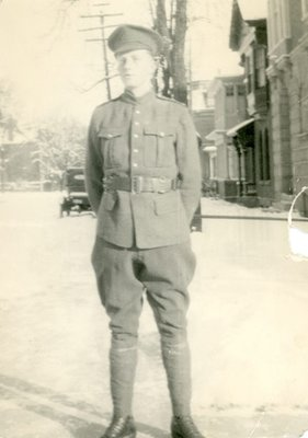 Dr. George C.R. Hall in Uniform University of Toronto