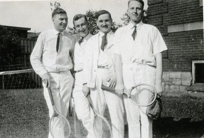 Tennis at Hamilton General Hospital