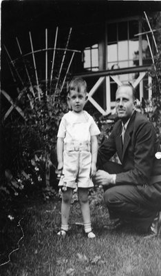 Dr. George C.R. Hall and Son Terence 1937