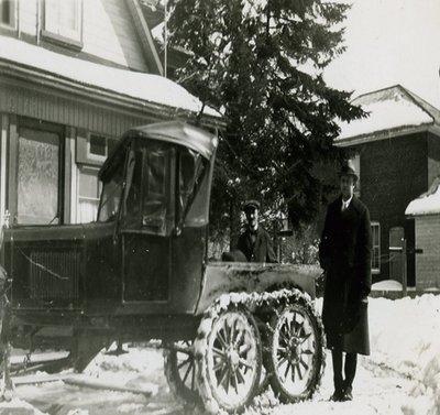 Snow Car 1930s