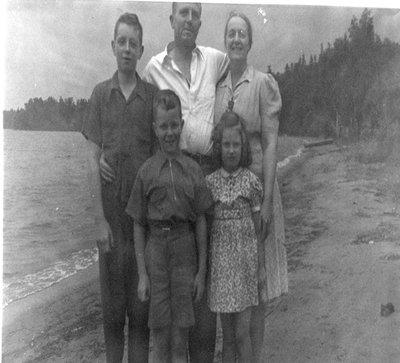 Hall Family 1940s