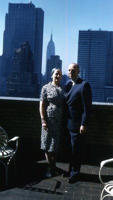 Dr. and Mrs. George C.R. Hall in New York