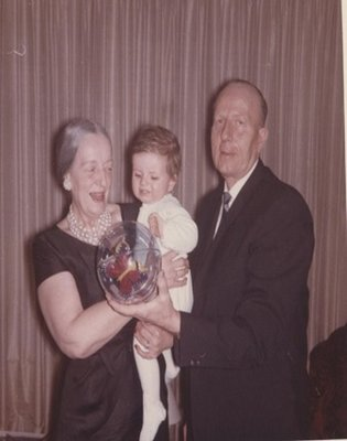 Dr. and Mrs. George C.R. Hall and First Grandchild