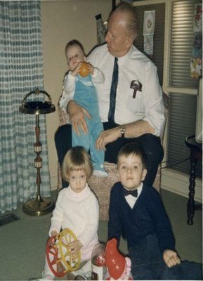 Dr. George C.R. Hall with Grandchildren