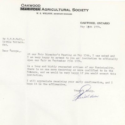 Oakwood Agricultural Society