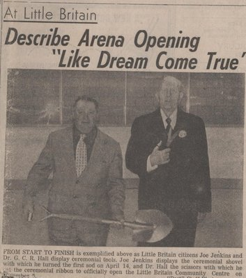 Arena Opening Little Britain