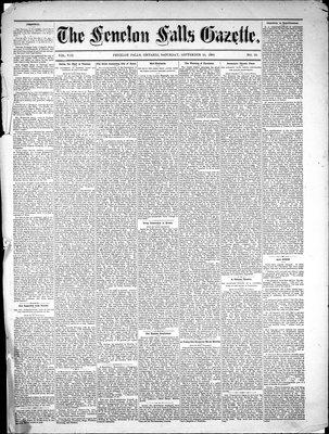 Fenelon Falls Gazette, 25 Sep 1880