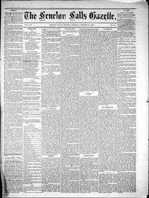 Fenelon Falls Gazette, 16 Oct 1880