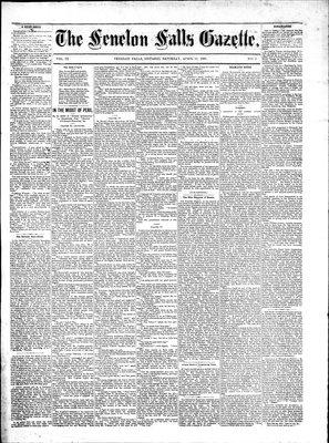Fenelon Falls Gazette, 16 Apr 1881