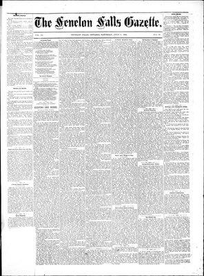 Fenelon Falls Gazette, 9 Jul 1881