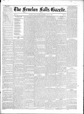 Fenelon Falls Gazette, 16 Jul 1881