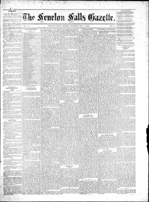 Fenelon Falls Gazette, 14 Oct 1882