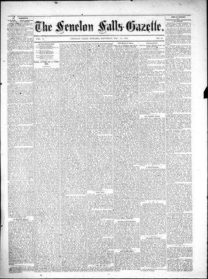 Fenelon Falls Gazette, 25 Nov 1882