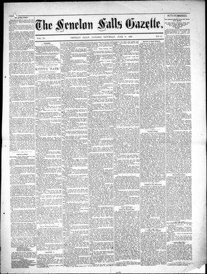 Fenelon Falls Gazette, 9 Jun 1883