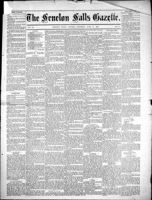 Fenelon Falls Gazette, 16 Jun 1883