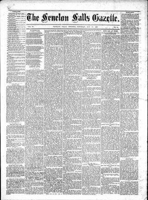 Fenelon Falls Gazette, 27 Oct 1883