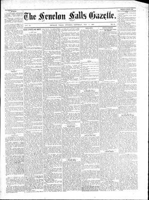 Fenelon Falls Gazette, 3 Nov 1883