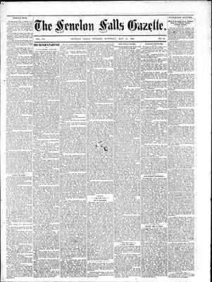 Fenelon Falls Gazette, 24 May 1884