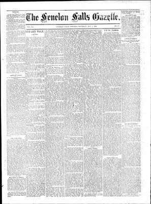 Fenelon Falls Gazette, 8 Nov 1884