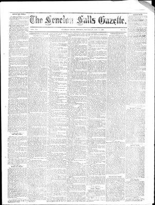 Fenelon Falls Gazette, 17 Jan 1885