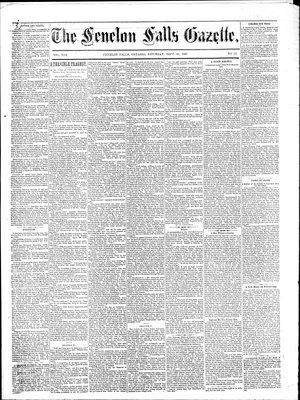 Fenelon Falls Gazette, 26 Sep 1885