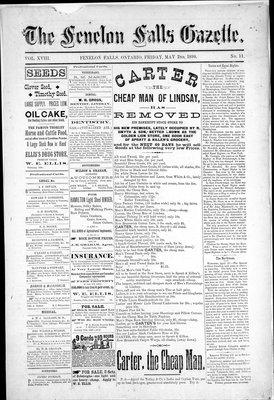 Fenelon Falls Gazette, 2 May 1890