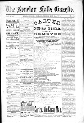 Fenelon Falls Gazette, 23 May 1890