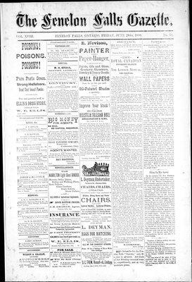 Fenelon Falls Gazette, 20 Jun 1890
