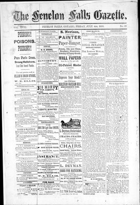 Fenelon Falls Gazette, 4 Jul 1890