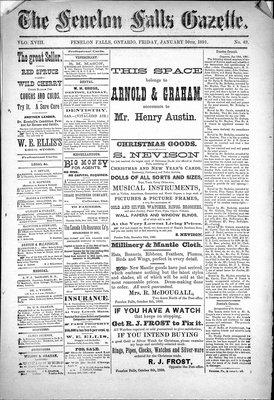 Fenelon Falls Gazette, 30 Jan 1891