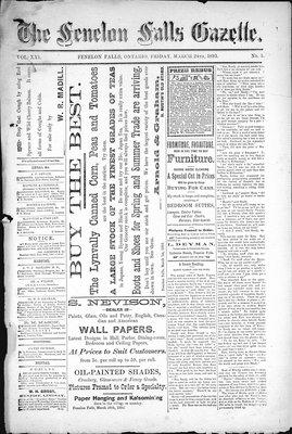 Fenelon Falls Gazette, 24 Mar 1893