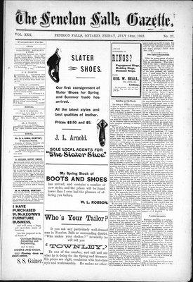 Fenelon Falls Gazette, 18 Jul 1902