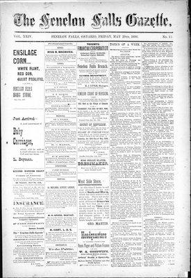 Fenelon Falls Gazette, 29 May 1896