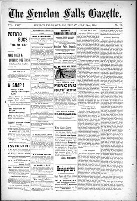 Fenelon Falls Gazette, 24 Jul 1896