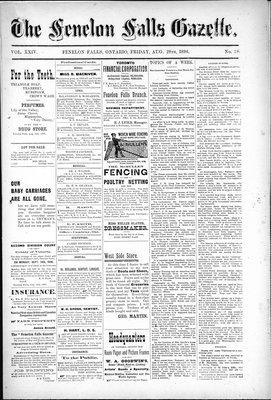 Fenelon Falls Gazette, 28 Aug 1896